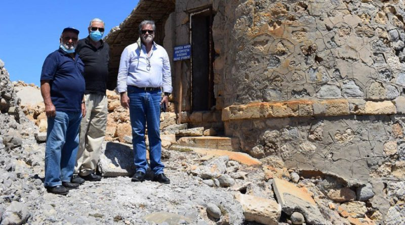 Kρήτη- Άγιος Νικόλαος: Προς αναστήλωση ο φάρος Ακρωτηρίου